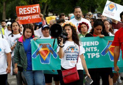 टिपिएस सुविधा अन्त्यको विरोधमा ट्रम्पविरुद्ध मुद्दा दायर