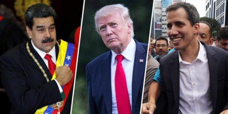 भेनेजुएलामा अन्तरिम राष्ट्रपति, अमेरिकाको समर्थन