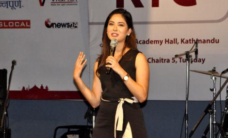 काठमाडौं युथ कनक्लेभ – २०७५ मा, श्रृंखला खतिवडाले भनिन् : सफलता निरन्तरताले दिन्छ