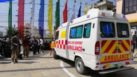 छेच्यु कार्यक्रमः ह्योल्मो सेवा केन्द्रमा नयाँ एम्बुलेन्स, कान्छी डोल्मालाई ८ लाख