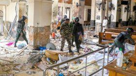 श्रीलंकामा आइतबार चर्च र होटलमा आत्मघाती बम आक्रमणमा परी २०७ जनाको मृत्यु