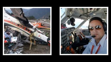 लुक्ला विमान दुर्घटनामा घाइते समिट एयरका मुख्य पाइलट उपचारपछि घर फर्किए