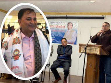 प्रवासमा राजनीतिक संगठन नखोल्न उपप्रधानमन्त्री पोखरेलको सुझाव, 'एनआरएनले नागरिकता पाउँछ'