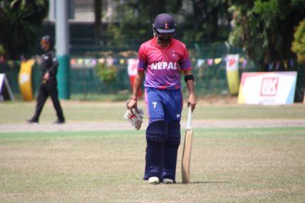 नेपालको टी २० क्रिकेट विश्वकप खेल्ने सपना अधुरै