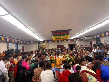 न्युयोर्कमा मनायो धर्म चक्र प्रर्वतक दिवस ( टुक्पा छेची )
