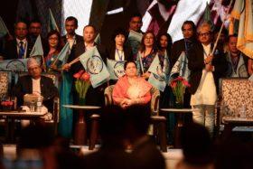 एनआरएनएको नवौं सम्मेलन काठमाडौंमा शुरु, बुधबार नयाँ नेतृत्वका लागि मतदान हुने