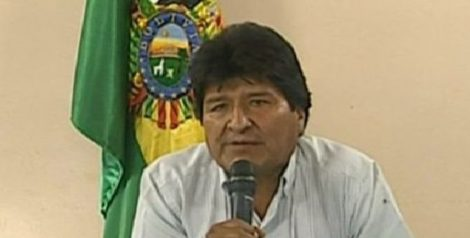 बोलिभियाका राष्ट्रपति मोरालेसलाई मेक्सिकोले राजनीतिक शरण दिने
