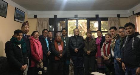 जनजातिले मनाउने चाडमा विदा पुनस्थापना माग गर्दै गृहमन्त्रीलाई ज्ञापन