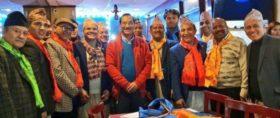 राप्रपा निकट प्रवासी समाजको नेतृत्वमा शेरचन