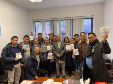 भिजिट नेपाल सफल बनाउन एनआरएन र सरकारी प्रतिनिधि वीच न्युयोर्कमा छलफल