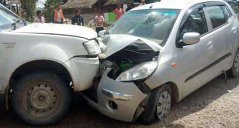 नेकपा मालेका महासचिव मैनाली दुर्घटनामा