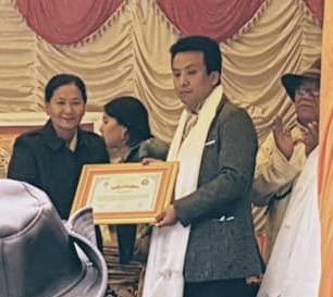 शेर्पा समुदायबाट पहिलो मुटुरोग विशेषज्ञ डा. कुन्जाङ सम्मानित