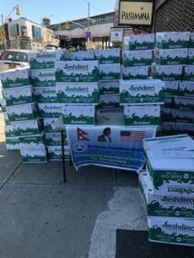 गिरिजाप्रसाद कोइराला फाउण्डेसन अमेरिकाद्वारा न्युयोर्कमा खाद्य सामग्री वितरण
