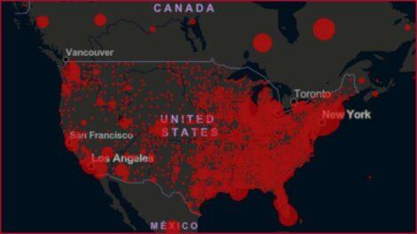 अमेरिकामा एकै दिन ६० हजार कोरोना संक्रमित थपिए
