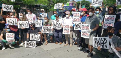 अमेरिकामा भइरहेको विभेदको विरोध आन्दोलनमा नेपाली समुदायद्धारा ऐक्यबद्धता