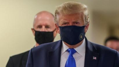 अमेरिकी राष्ट्रपति ट्रम्प अस्पताल भर्ना, प्रतिस्पर्धी जो बाइडेनको रिपोर्ट नेगेटिभ
