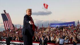 अमेरिकी राष्ट्रपति ट्रम्पद्वारा ह्वाइट हाउस छाड्ने संकेत