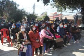 सडक बिस्तारको नाममा स्वयंभू क्षेत्र भत्काउने सरकारी तयारीबिरुद्धको आवाज