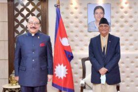 भारतीय बिदेश सचिव काठमाडौंमा, वार्ताबाटै समस्याको समाधान गर्ने प्रधानमन्त्री ओलीको सन्देश