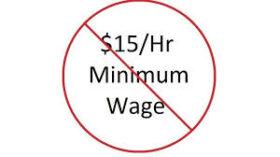 अमेरिकामा न्यूनतम ज्याला १५ डलर पुर्याउने प्रस्तावमा सहमति जुटेन