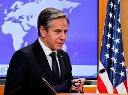 अमेरिकी विदेशमन्त्री एन्टनी ब्लान्केन इजरायलमा