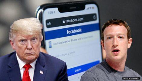 फेसबुकका प्लेटफर्महरुमा ट्रम्पलाई दुई वर्ष प्रतिबन्ध