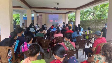 आदिवासी जनजाति दुरा युवा र महिलालाई जलवायु परिवर्तनसम्बन्धी तीन दिने तालिम