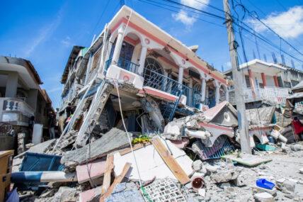 हाइटीमा ७.२ रेक्टर स्केलको शक्तिशाली भूकम्प, तीन सयभन्दा बढीको मृत्यु