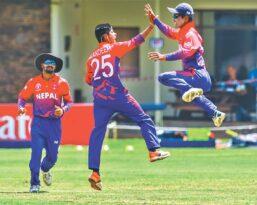 ओमान र अमेरिकासँग खेल्न छानिए क्रिकेट १९ खेलाडी
