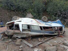 मुगुमा बस दुर्घटना: चालकसहित ३२ को मृत्यु