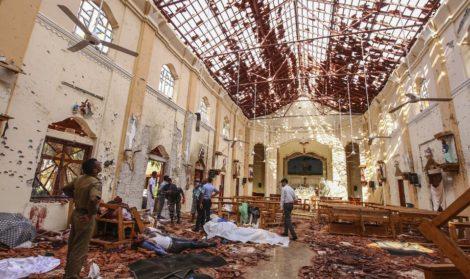 आतङ्कवादी आक्रमणको चपेटामा श्रीलङ्का