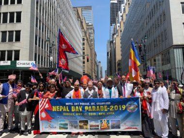 न्युयोर्क मिनि नेपालमय बन्यो चौथो नेपाल डे परेडले