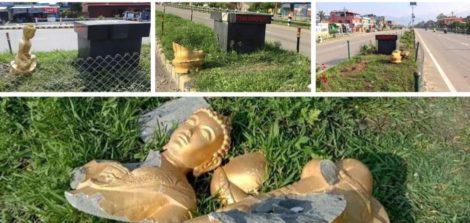 बुद्ध जन्मभूमि नेपालमा बुद्धको मूर्तिहरु तोडफोड गरेर नेपाललाई लज्जित बनाएको छ