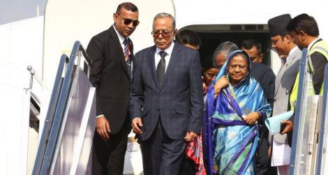 नेपाल भ्रमणमा आएका बंगलादेशी राष्ट्रपति हमिद के गर्दैछन् ?