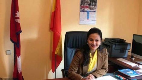 स्पेनका लागि नेपाली राजदूत शेर्पाले सम्हालिन कार्यभार