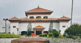 सञ्चारमन्त्रीको राजीनामा माग गर्दै राष्ट्रियसभा बैठक अवरुद्ध