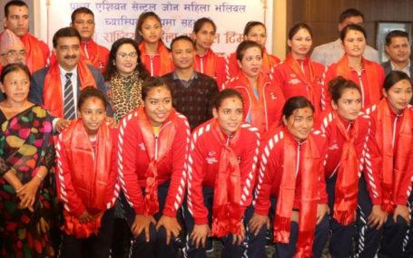 नेपाली महिला भलिबल विश्व वरियतामा ८७ औँ स्थान