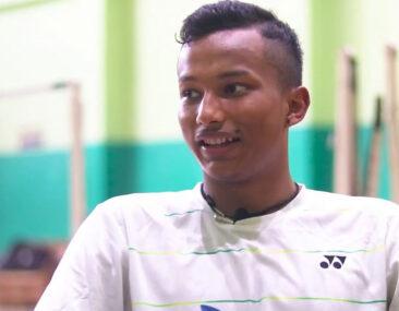 दार्चुलाका प्रिन्स ब्याडमिन्टनमा विश्वकै सातौँ उत्कृष्ट खेलाडी