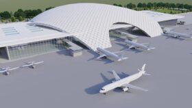 यस्तो छ गौतम बुद्ध अन्तर्राष्ट्रिय विमानस्थलको दोस्रो टर्मिनलको डिजाइन