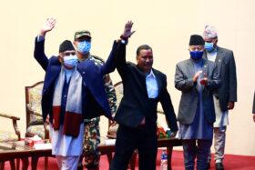 सरकार–नेकपा सहमति, नेपालमा अब हिंसात्मक द्वन्द्व छैन : प्रधानमन्त्री