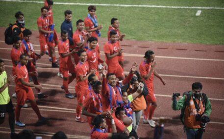 त्रिदेशीय कप फुटबलको बिजेता नेपाल