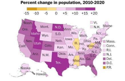 अमेरिकाको जनसंख्या ३३ करोड बढि, सुस्त बृद्धिदर