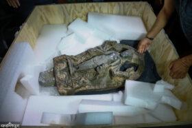 आइपुग्यो अमेरिकाबाट ३७ वर्षपछि वासुदेव-कमलाजाको मूर्ति