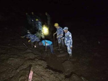 पर्वतमा पहिराले पुरिएर पाँचको मृत्यु, तीन बेपत्ता